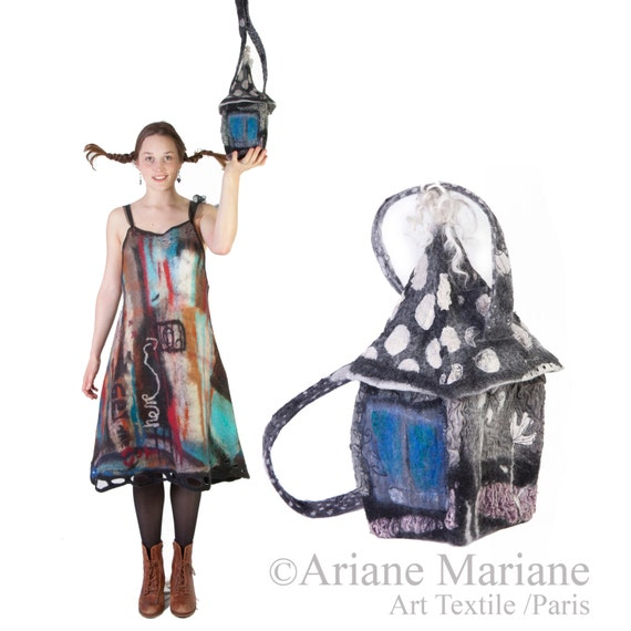 Sac à main femme, pièce unique accessoire - sac sculpté en forme de ...