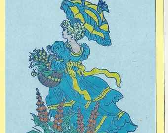 Victorian Blue-choice of saying