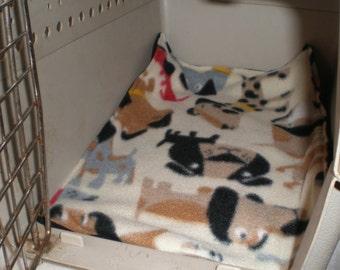 Dog Fleece Crate Pad Fleece Crate Mat Cream