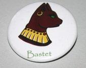 Ancient Egyptian Goddess - Bastet - Mythology Badge