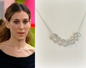 Carrie Bradshaw Crystal Necklace- n556