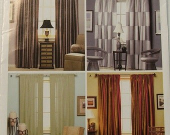 Simplicity 4100 Christoper Lowell Collection drapes
