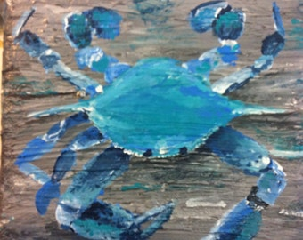 Ponchartrain Blue Crab - 5x5