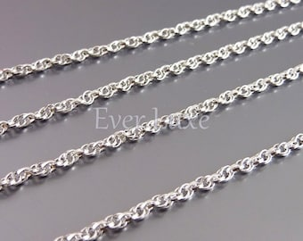 1 Meter thick rope jewelry chains, unique brass metal chain supplies, chains for necklaces, bracelets, anklets B081-BR