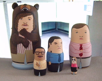 Workaholics Matryoshka Dolls