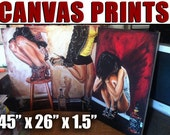 ALL CANVAS PRINTS 45 x 26 Jeremy Worst Collection  Limited Edition Original Giclee Prints