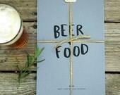 SALE - 2014 BEER/FOOD Calendar