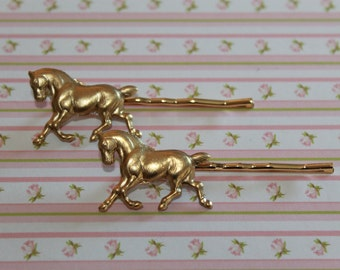 Horse Bobby Pins make beautiful gifts and everyday hair accessories