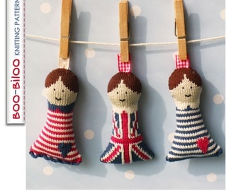 Great British Boo-Buddies Soft Toy Knitting Pattern