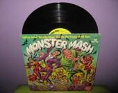 SHOP CLOSING SALE Vinyl Record Album Monster Mash Lp 1970s Children's Novelty Halloween Classics George Peed