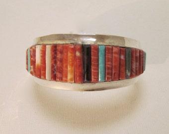 Henry Rosetta Bracelet Inlaid Pueblo