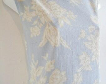 1960s Wedgewood blue SHEATH DRESS, size large