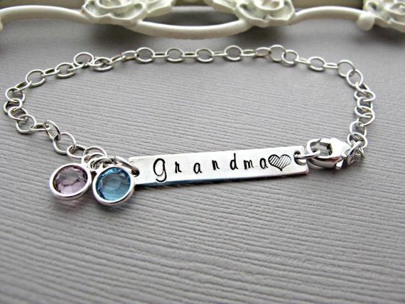 bracelet grandmother bracelet by vonmeyerjewelry