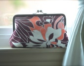 Bridesmaids Personalized Clutches Gift Handmade Bags Customize Your Lolis Creations Clutch Wedding You Choose the fabric