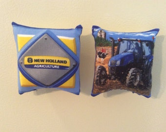 New Holland Tractor Pillow Magnets