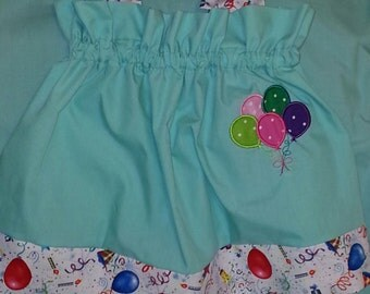 Boutique OOAK Balloons  Pillowcase Dress