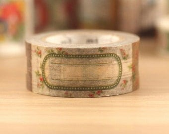 MT ex 2014 A/W - Japanese Washi Masking Tape - Classy Labels 20mm wide