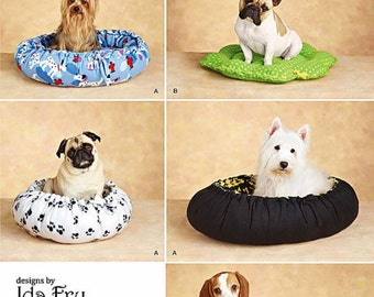 NO SEW Dog Bed Pattern, Fleece Dog Bed Pattern, Simplicity Sewing Pattern 2297