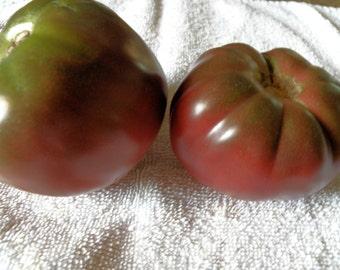 Black Krim Tomato Seeds, Heirloom Tomato Seeds, Organically Grown Tomato Seeds