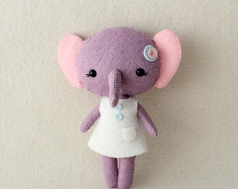 Pocket Elephant pdf Pattern - Instant Download
