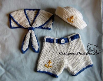 Baby sailor hat Etsy