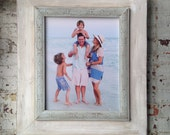 16x20 Whitewash Portrait Frame