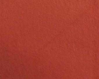 Organic Cotton FLEECE- Birch- CORAL