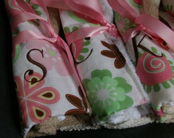 Custom Travel Toothbrush Rolls Set of 8 Personalized with Initial