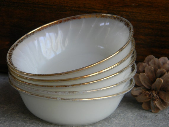 Vintage Weddings decor TableSetting Candleholders Milk Glass Wedding Decor custard cups Bowls