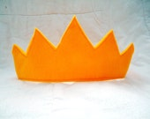 Children's Gold Felt Crowns - Handmade, Dress Up, Costume, King, Queen, Prince, Princess, Superhero