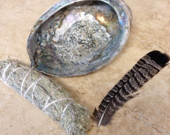 Smudge kit native american made Plains native style