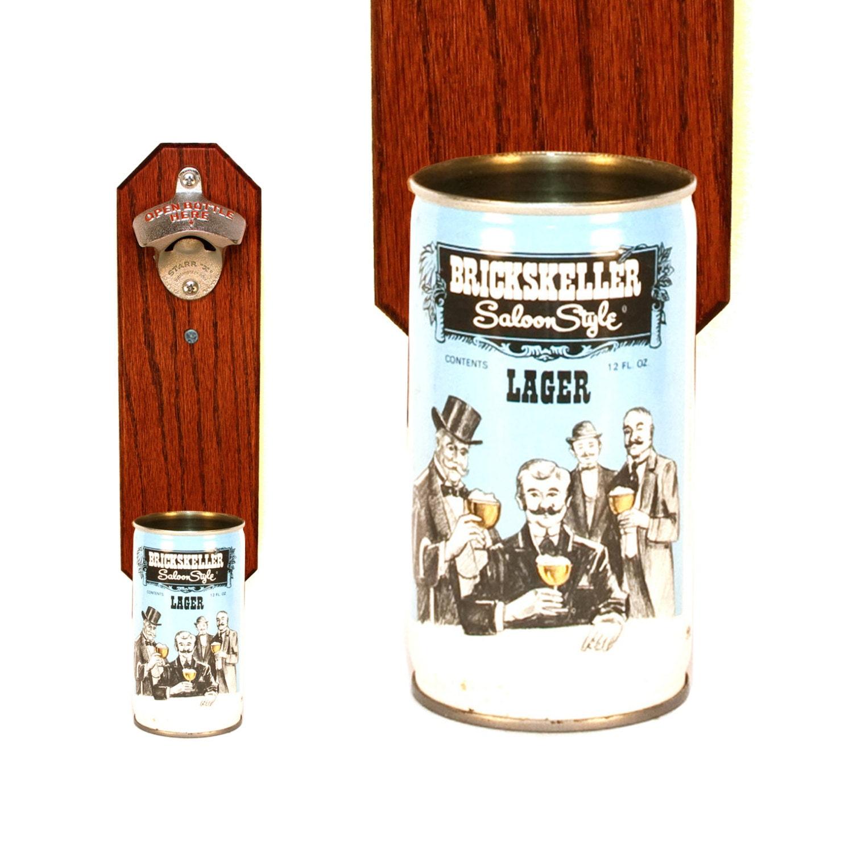 brickskeller wall mounted bottle opener with vintage by handysam. Black Bedroom Furniture Sets. Home Design Ideas