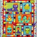 MONSTER  PATCH  Quilt Pattern ~ Adorable Applique and Pieced Quilt Sewing Pattern ~ Cot/Crib Quilt ~ Design from Kids Quilts