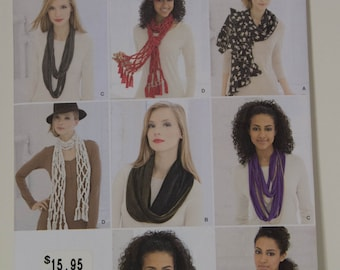 Lots of Different Scarves  Simplicity 1790  UNCUT