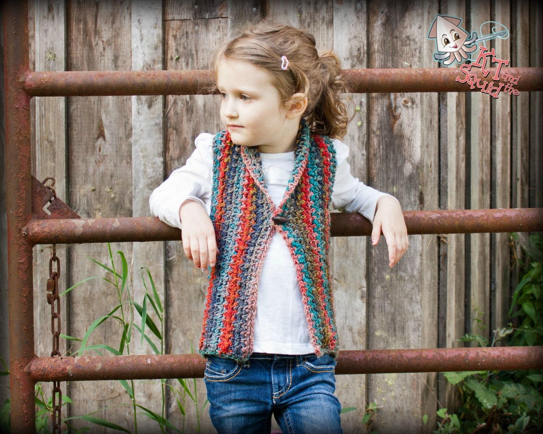 Crochet vest pattern girls crochet top pattern crochet vest zoom bankloansurffo Images