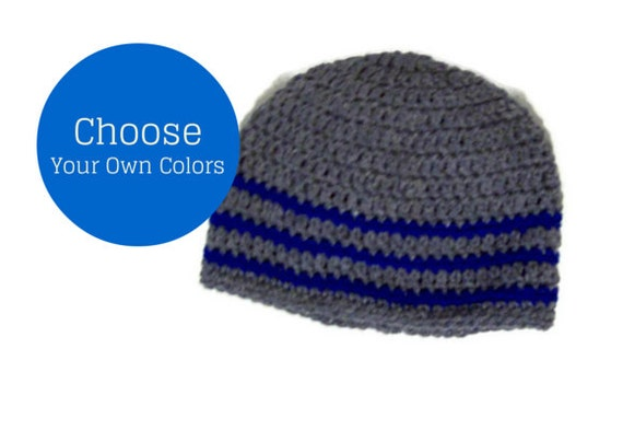 Custom Made Men's Beanie Cap Your Choice Of Color