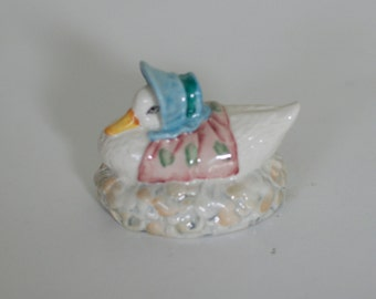 vintage jamima puddleduck beatrice potter by royal albert 1989