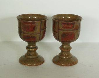otagiri stoneware goblets
