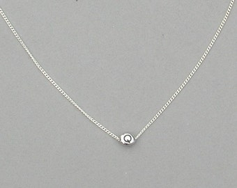 Initial Q Bead Necklace