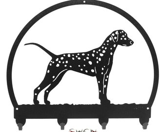 Dalmatian Metal Key Chain Holder Hanger