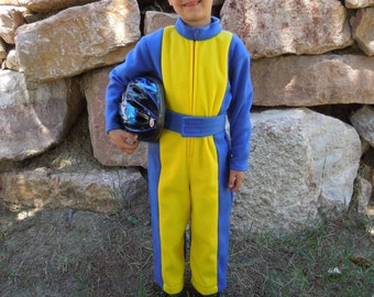 Race Car Driver Costume for Infant, Toddlers & Boys