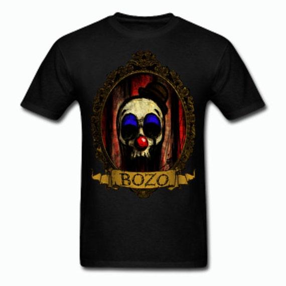 Bozo Skull Tee shirt