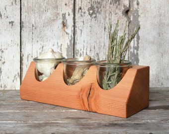 Tabletop Caddy by Peg and Awl