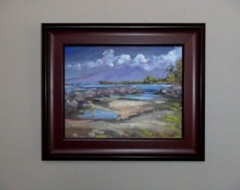 Frame for 8x10 flat panel painting - not recommended for stretched canvas