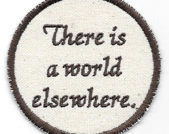 Shakespeare, Coriolanus, There is a World Elsewhere Patch