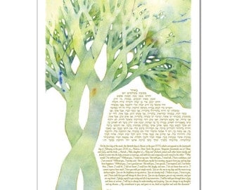 Ketubah: Tree of Life - Delight