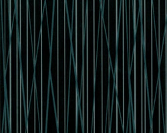 Cats, Bats, and Vats from Clothworks Textiles - Full or Half Yard Black Striped/Striated Quilt Fabric