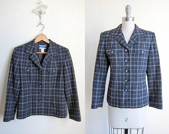 Pendleton Jacket   Vintage Suit   Fair Lady Plaid