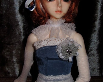 Flow Blue bloomers and corset set for SD