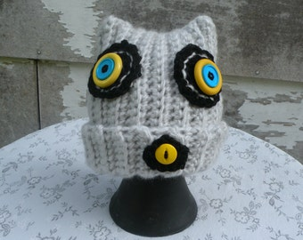 Zombie Cat Hat, 6-12 Months, Costume, Fun Hat, Crawling Undead